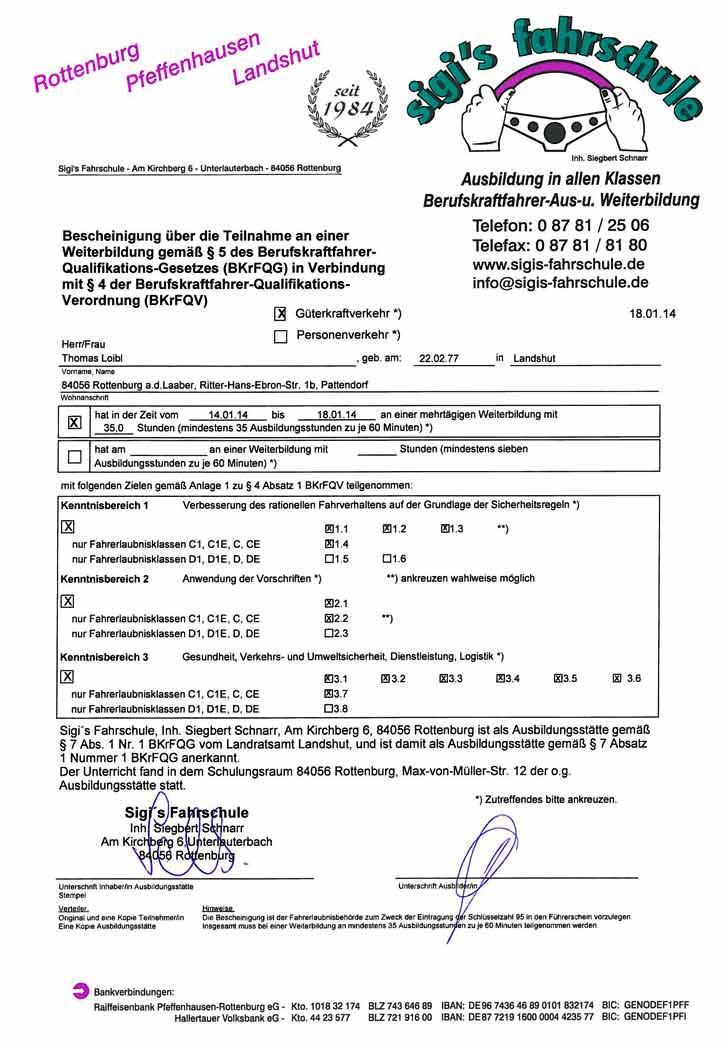 Zertifikate : Loibl Zimmerei Holzbau